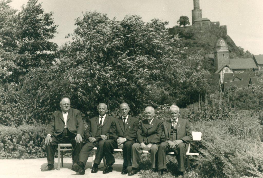 1963 Willi Hilgenberg, August Wagner, Hans Griesel, Heinrich Orth, Bernhard Reinbold